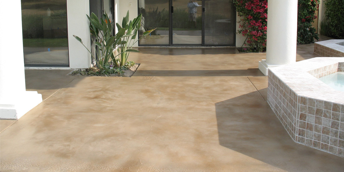 Stained Concrete & Concrete Staining Contractor | Corona ...